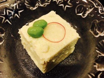 枝豆豆腐♪
