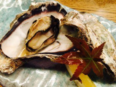 殻付き焼き牡蠣♩
