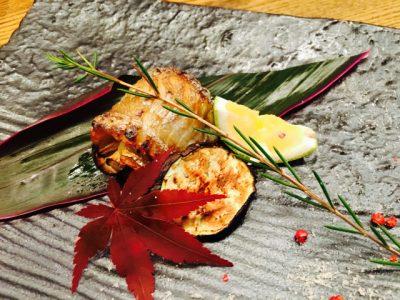 太刀魚の茸巻き焼き♩