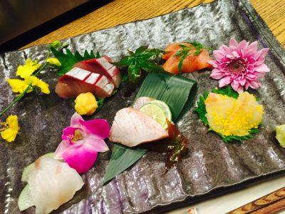 本日鮮魚のおまかせ盛り♩