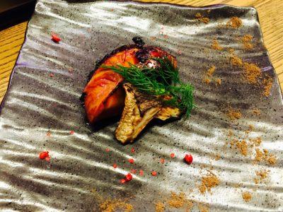 ハマチの実山椒焼き♩