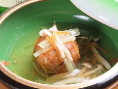 秋刀魚と五目野菜のじゃがいも饅頭♪
