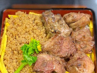 熟成の広島赤鶏重(お吸い物付き)